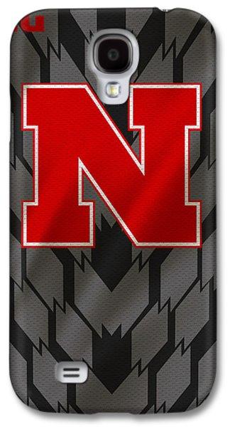 Nebraska Cornhuskers Uniform Galaxy S4 Case