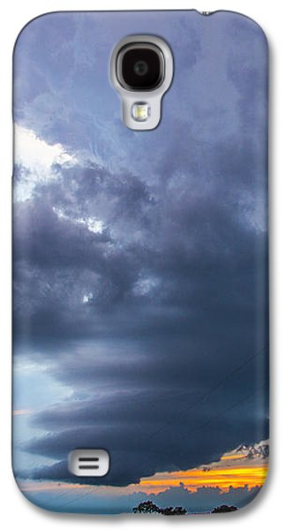 Nebraskasc Galaxy S4 Case - Nebraska Supercell 025 by NebraskaSC