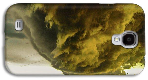 Nebraskasc Galaxy S4 Case - Nebraska Supercell, Arcus, Shelf Cloud, Remastered 018 by NebraskaSC