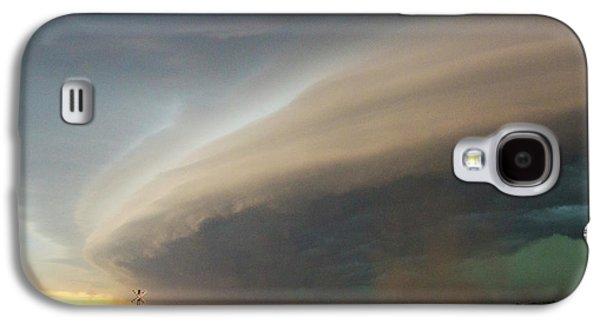Nebraskasc Galaxy S4 Case - Nebraska Thunderstorm Eye Candy 026 by NebraskaSC