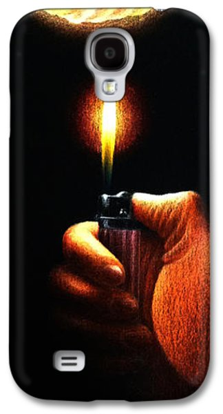 Necessary Evil Galaxy S4 Case by Michael Errigo