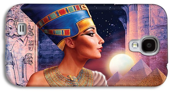 Nefertiti Variant 5 Galaxy S4 Case by Andrew Farley