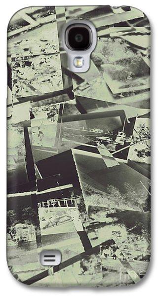 Negative Film Photo Background Galaxy S4 Case