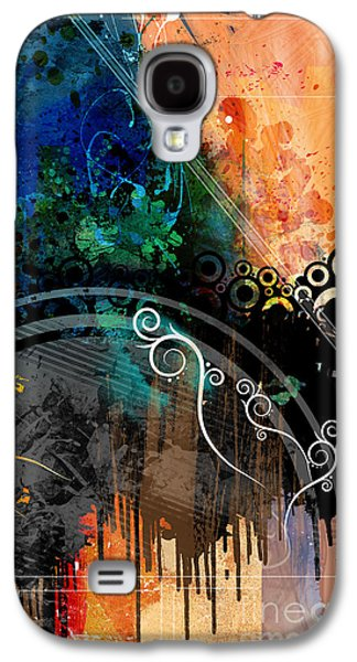 Negative Thoughts Invasion Galaxy S4 Case by Bedros Awak