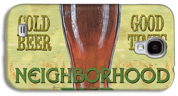 Neighborhood Pub Galaxy S4 Case by Debbie DeWitt