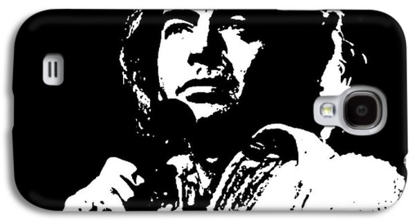 Neil Diamond Singer Galaxy S4 Case by John Malone