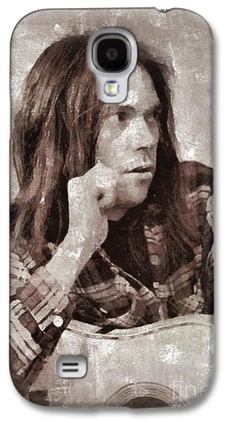 Neil Young By Mary Bassett Galaxy S4 Case