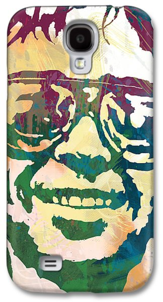 Neil Young Pop Stylised Art Poster Galaxy S4 Case by Kim Wang