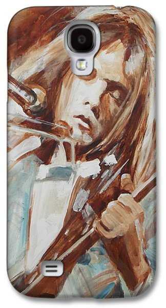 Neil Young Galaxy S4 Case by Sandra Haney
