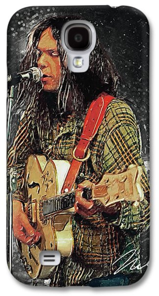 Pearl Jam Galaxy S4 Case - Neil Young by Taylan Apukovska