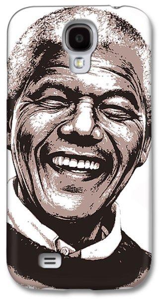 Nelson Mandela Galaxy S4 Case by Greg Joens