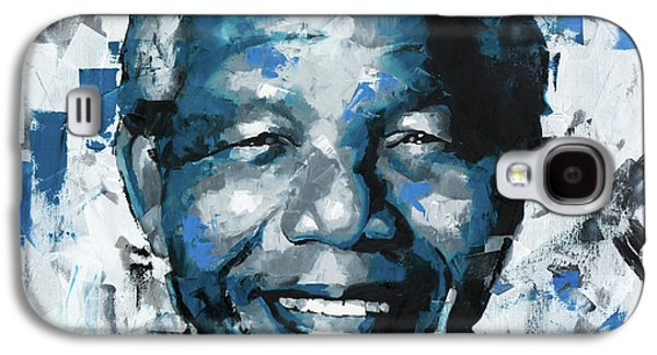 Nelson Mandela II Galaxy S4 Case by Richard Day
