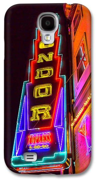 Condor Galaxy S4 Case - Neon Condor San Francisco by Garry Gay