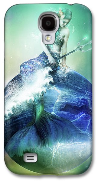 Planet Galaxy S4 Cases - Neptune Galaxy S4 Case by Karen K