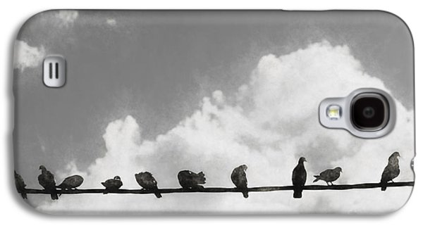 Network Of The Bird Line  Galaxy S4 Case by Jorgo Photography - Wall Art Gallery