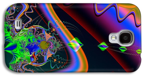 Colorful Abstract Galaxy S4 Cases - Neuromuscular Junction Galaxy S4 Case by Solomon Barroa