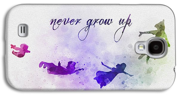 Never Grow Up Galaxy S4 Case