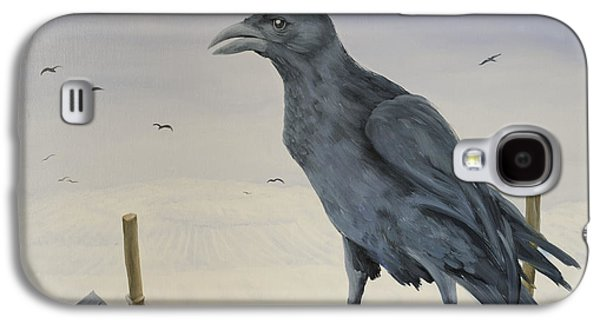 Nevermore Galaxy S4 Case by Magdolna Ban
