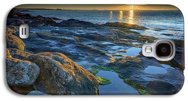New Beginnings On Muscongus Bay Galaxy S4 Case by Rick Berk