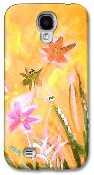 New Daisies Galaxy S4 Case by Winsome Gunning
