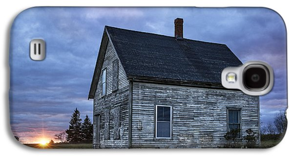 New Day Old House Galaxy S4 Case by John Greim