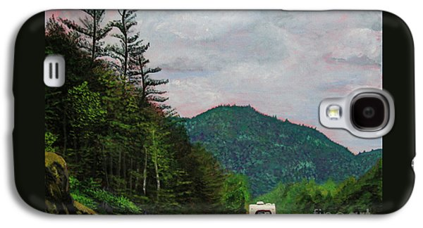 New England Journeys - Truck With Trailer Galaxy S4 Case by Marina McLain