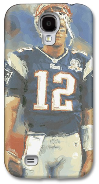 New England Patriots Tom Brady Galaxy S4 Case