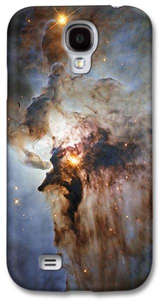 New Hubble View Of The Lagoon Nebula Galaxy S4 Case by Adam Romanowicz