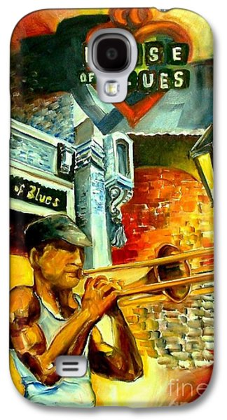 Trombone Galaxy S4 Case - New Orleans' House Of Blues by Diane Millsap