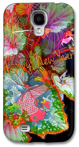 New Year Resolution  Galaxy S4 Case by ARTography by Pamela Smale Williams