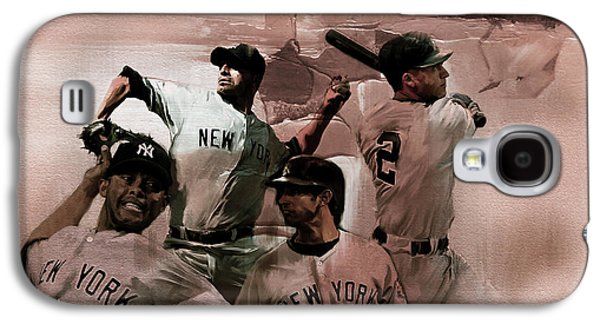 New York Baseball  Galaxy S4 Case by Gull G