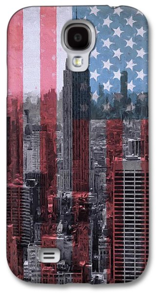 New York City American Pride Galaxy S4 Case by Dan Sproul