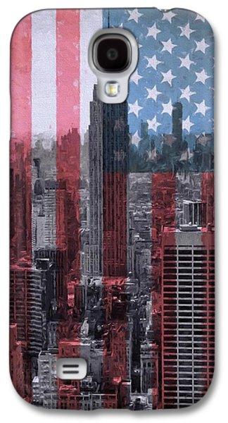 New York City American Pride Galaxy S4 Case