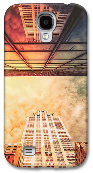 New York City - Chrysler Building Galaxy S4 Case