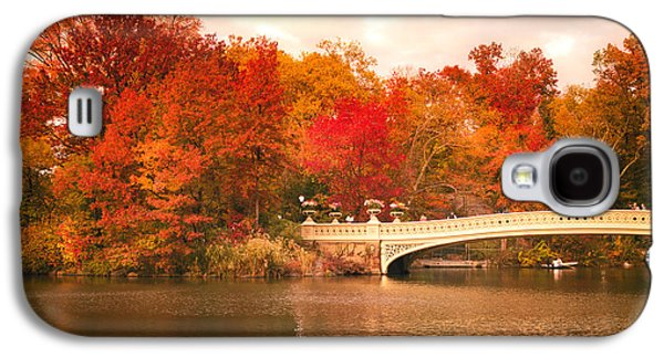 New York City In Autumn - Central Park Galaxy S4 Case