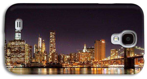 New York City Lights At Night Galaxy S4 Case