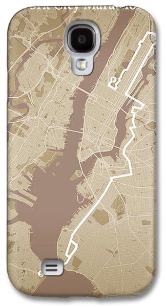 New York City Marathon #1 Galaxy S4 Case