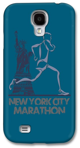 New York City Marathon3 Galaxy S4 Case