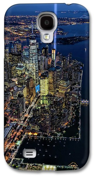 New York City Remembers 9-11 Galaxy S4 Case by Susan Candelario
