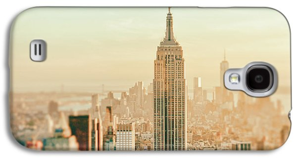 Skyline Galaxy S4 Case - New York City - Skyline Dream by Vivienne Gucwa