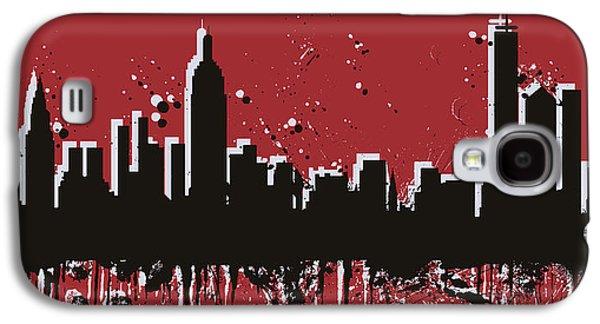 New York City Skyline Pop Art Galaxy S4 Case