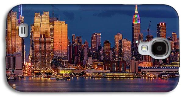 New York City Skyline Pride Galaxy S4 Case