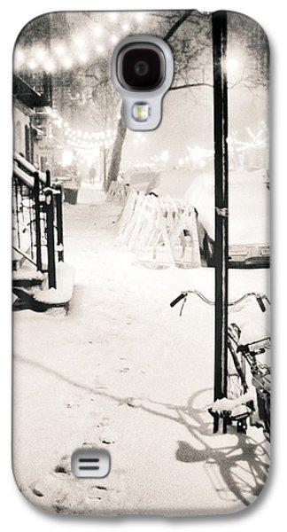 New York City - Snow Galaxy S4 Case by Vivienne Gucwa