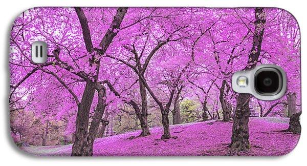 New York City Springtime Galaxy S4 Case