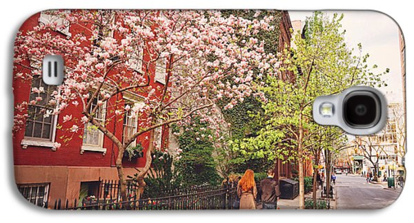 New York City - Springtime - West Village Galaxy S4 Case by Vivienne Gucwa