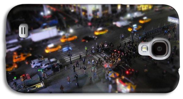 New York City Street Miniature Galaxy S4 Case