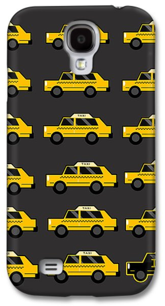 New York City Taxi Galaxy S4 Case by Art Spectrum
