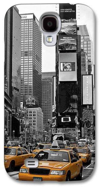City Scenes Galaxy S4 Case - New York City Times Square  by Melanie Viola
