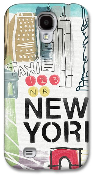 New York Cityscape- Art By Linda Woods Galaxy S4 Case