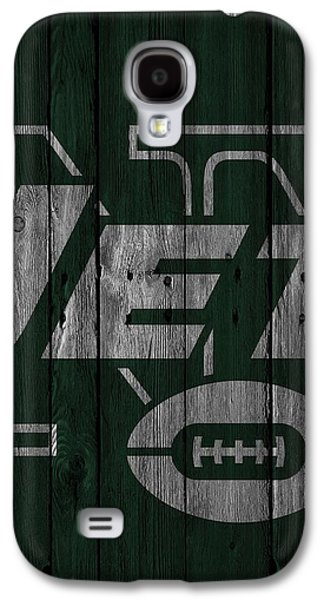 New York Jets Wood Fence Galaxy S4 Case
